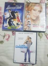 DVDs Paixao de Aluguel, O Agente Teen e A Nova Cinderela