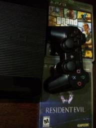 Vendo PS3 (seminovo) 500 Gb