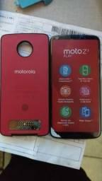 Moto z3 com bateria extra nota fiscal garantia aceita cartao de xredito e debito