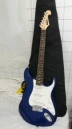 Instrumento capa e guitarra novos