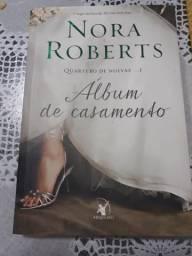 Livro Album de Casamento - autora Nora Roberts