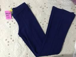 Calça azul escuro