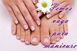 Vaga para Manicure/Pedicure