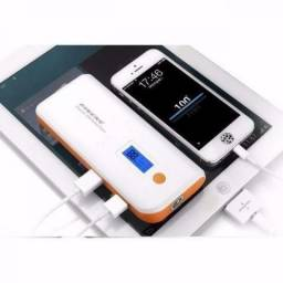 Carregador Port¨¢til Power Bank Pineng 10000mah