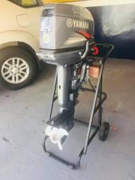 Motor Popa 25 hp YAMAHA com partida elétrica - 2015