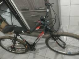 Bicicleta Aro 26 Houston Foxer Hammer com 21 Marchas - Preta