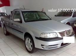 Vw - Volkswagen Saveiro 1.6 2p Prata - 2004