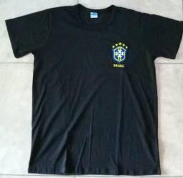Camisas do Brasil 100% algodão
