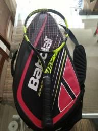 Raquete de Tênis New Pure Aero Babolat L4 + Raqueteira