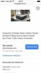 Cama Box Casal Liberty Queen Size