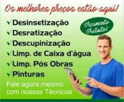 Contra pragas dedetização saúde ambiental. 9 9770-7907- 9 8597-7432 ou 9 9222-8714