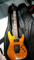 Guitarra Schecter Extreme Series + Cap Seymour Duncan Dimebag