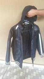 Jaqueta de frio Infantil de Couro
