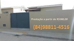 Excelente casa nova em macaíba, já com a documentação inclusa