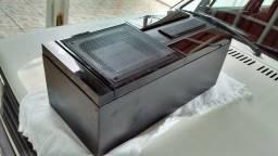 Em Atibaia - (R$ 700,00) Caixas Acústicas Mitsubishi E-504 (par) - muito bom estado