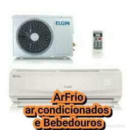 Serviços em geral de ar condicionado