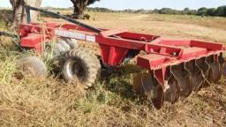 Implemento agricola grade aradora marca piccin 14/34