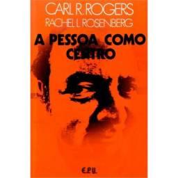 Livro A Pessoa Como Centro - Carl R. Rogers Promoção