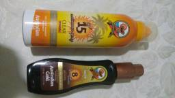 Protetor e bronzeador Solar Australian Gold