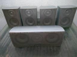 5 caixas de som do home theater infinity