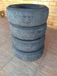 Vendo 04 pneus caminhonete 265.70-16