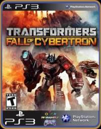 Título do anúncio: Ps3 Transformes Fall of Cybertron