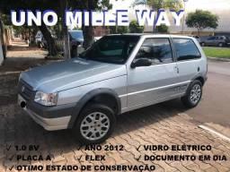 Fiat Uno Mille Way Economy 2012 - 2012