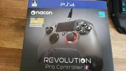 Controle Nacon Revolution Pro 2 RIG Edition Cinza (Usado por 15 dias)