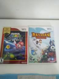 Mário Galaxy e Rayman