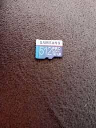 Cartão Memória Samsumg classe 10 512 GB