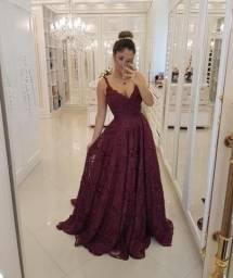 Vestido do Ateliê Bárbara Melo