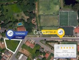 Terreno à venda, 770 m² por R$ 155.000,00 - Setor Pontal Sul - Aparecida de Goiânia/GO