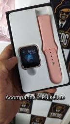 Smartwatch P70 Rose - R$ 190,00 ENTREGA GRÁTIS PARCELE NO BOLETO