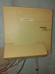 Central Telefônica Pabx Intelbras Modulare 4 X 12 + (TI730i Terminal Inteligente)