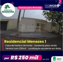 Casa à venda com 3 dormitórios em Menezes, Bady bassitt cod:V12170