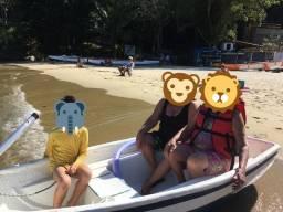 Troco bote por canadense ou caiaque duplo
