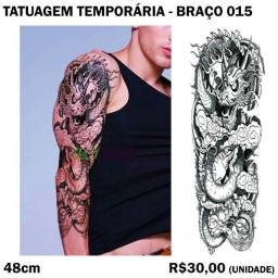 Tatuagem de Braço Temporária: Modelo 15