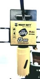 Serra Copo 17mm Aço Rápido Bimetal 25mm