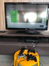 X box 360 com Kinect 2 controle