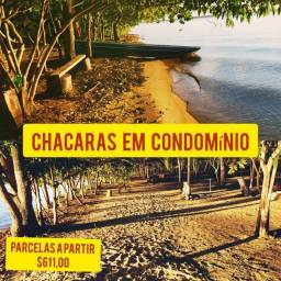 LANÇAMENTO DE CHACARAS BEIRA DO LAGO EM CONDÔMINO