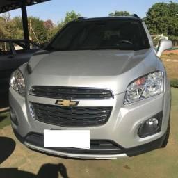 Chevrolet Tracker LTZ 1.8 Automatica - Flex Prata 2016 - Completa Unico Dono 44.000KM