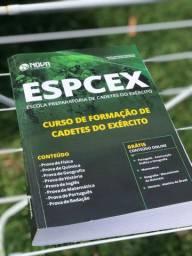 Livro do curso de formação de cadetes da Especex