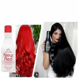Matizador para cabelos vermelhos e massala