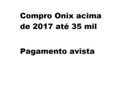 Compro onix acima de 2017
