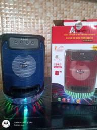Caixas de som em vários modelos e preços