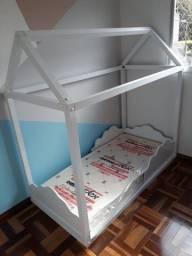 Cama + Colchão Montessori