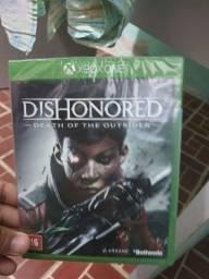 Dishonored Xbox one lacrado novo