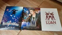 Cd e Dvd Lua Santana