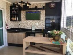 Apartamento com 3 dormitórios à venda, 128 m² por R$ 900.000 - Canto do Forte - Praia Gran