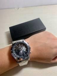 Relógio Prata Weiguan